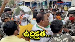 Tippu sulthan statue issue... bjp leaders arrest in proddutur akp