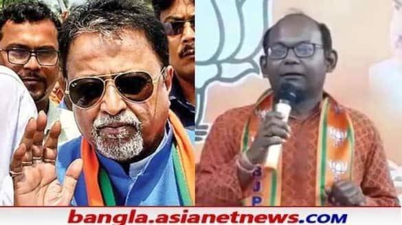 BJP Leader Sayantan Basu attacks to TMC Leader Mukul Roy RTB