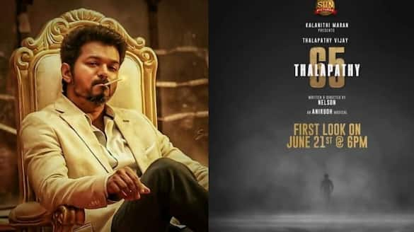 vijay thalapathy 65 first look release date and time fix arj