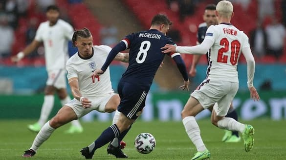 Scotland drew with England in Euro Cup