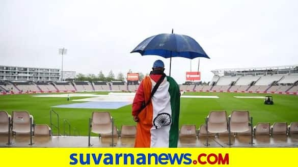 Cricket Fans lash out at ICC on Twitter after rain washes out first day of Ind vs NZ WTC final in Southampton kvn