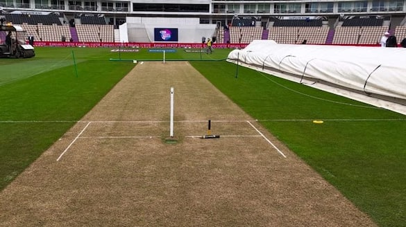 WTCfinal test Teamindia won toss and elected to field first against Newszealand ckm