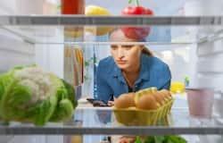 <p>opens fridge</p>