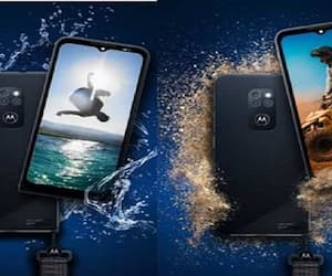 motorola defy rugged smartphone launched with up to 2 day battery and triple camera setup and waterproof upto 5 feets depth