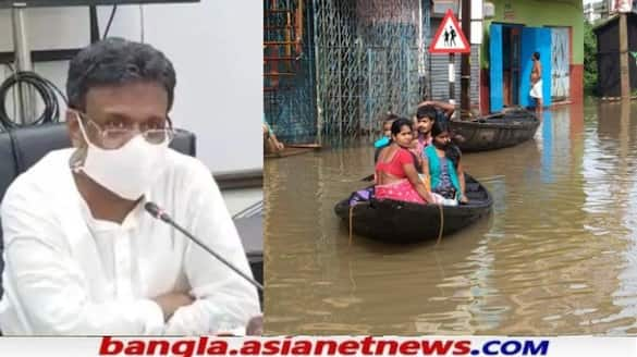 Dangerous situation in Kolkata and Ghatal due to heavy rains RTB