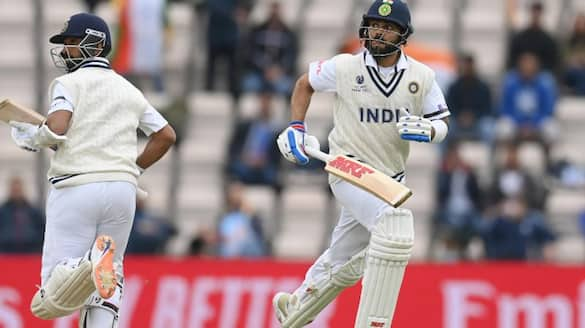 WTC final Team India vs New zealand day 2 stumps early due to bad light ckm