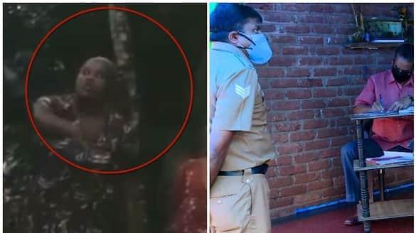 police catch accused jomol in idukki neighbour stab case