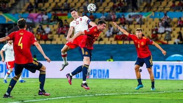 Euro 2020 Spain drew with Poland in Group E