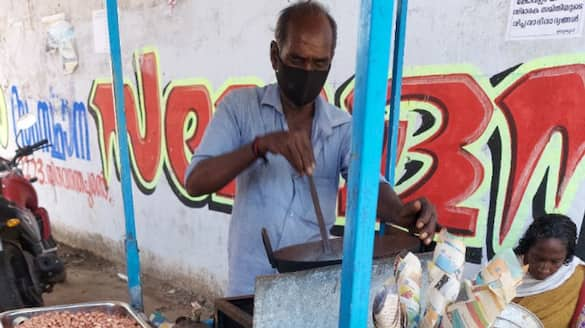 man who sells peanuts and chat in kovalam face hard time to meet both ends