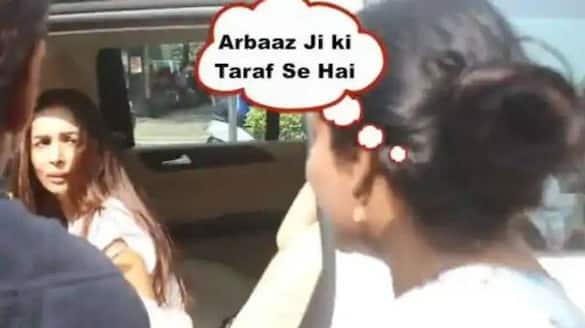 Here how angry Malaika Arora reacted when woman asked her to take a gajra from Arbaaz Khan RCB