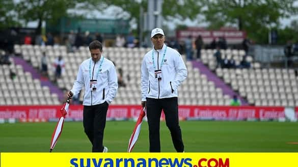 Ind vs NZ WTC Final 2021 Rain washes out first session at Ageas Bowl on day 4 kvn