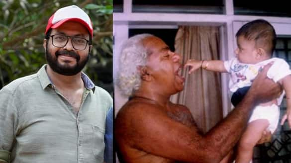 shammy thilakan shares a rare pic of thilakan on fathers day
