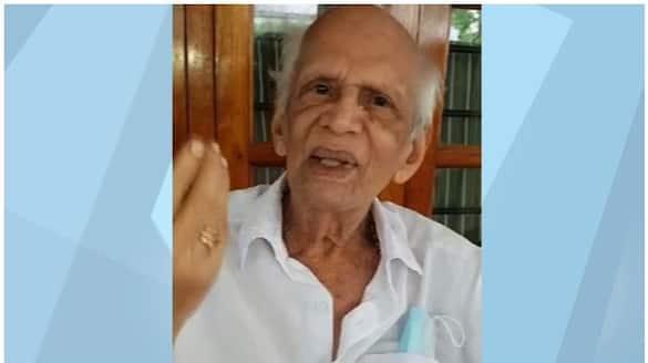 Thennala Balakrishna Pillai about his fake death news