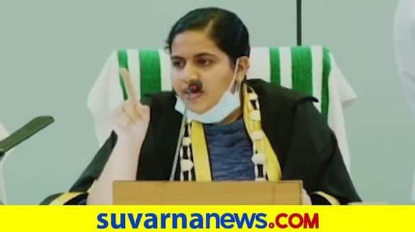 BJP leader calls Thiruvananthapuram Mayor Arya Rajendran LKG student her reply is viral pod