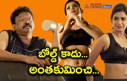 Finally Ariyana opens up her affair with Ram Gopal Varma here are interesting details