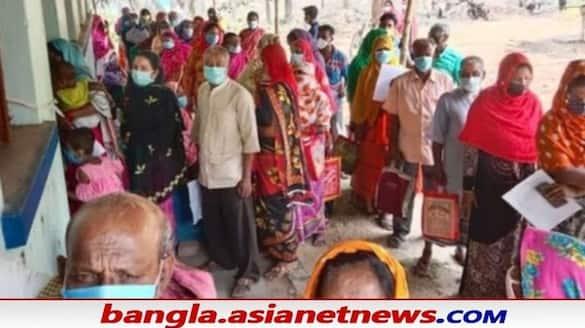 Murshidabad administration is taking steps to stop rumors about the coronavirus vaccine bsm