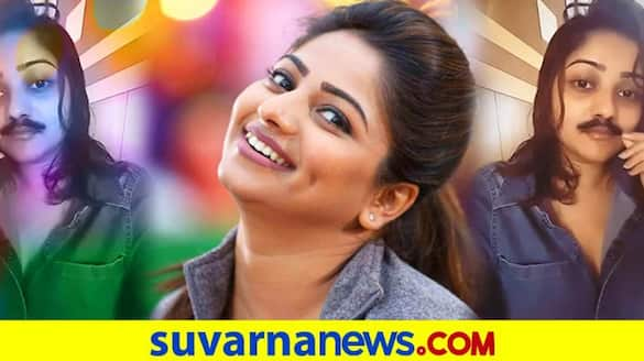 Actress Rachita Ram wishes happy father day with mustache video vcs