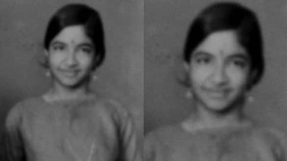 k s chithra childhood photos