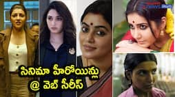 From Samantha To Kajal... Telugu Heroines busy with web series