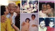 Famous actress with their father special and rare photos