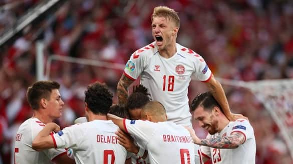 Belgium and Denmark into the pre quarters of  Euro Cup