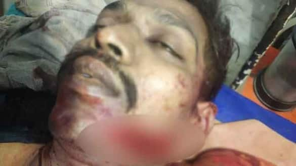 Police  killed by rowdy .. Terror in Nagercoil .. Rowdy hysterical act.