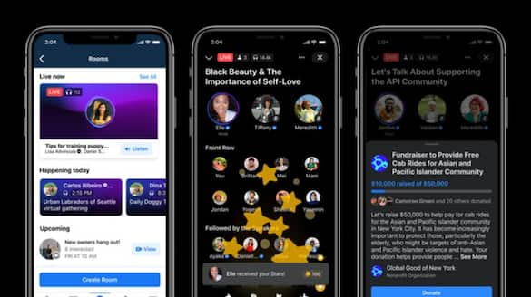 Facebook is rolling out its Clubhouse clone starting today
