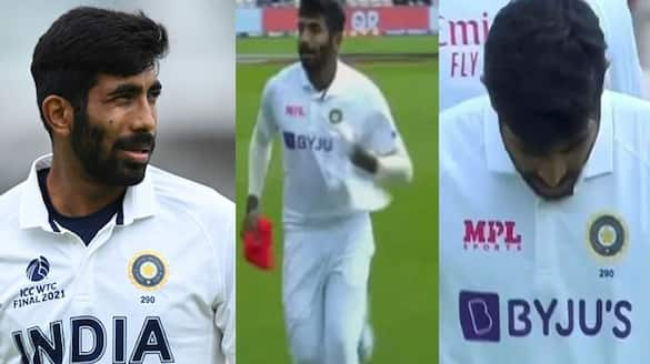 India vs New Zealand, Jasprit Bumrah bowled one over were wrong jersey in wtc final 2021 spb