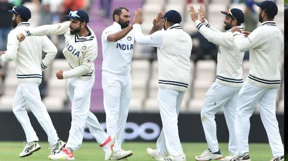 New Zealand  lost 3 wickets upto lunch of 5th day of wtc final 2021 spb