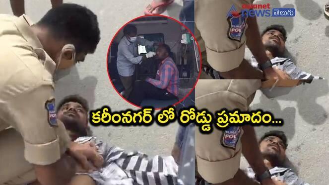 police Constable Saves young boy life akp