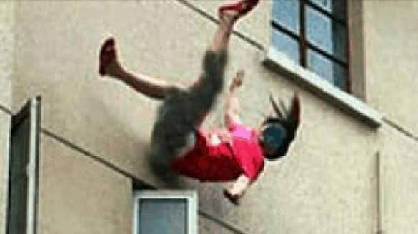 On CCTV UP Girl Thrown From 2nd Floor Home Allegedly By Her Molesters pod