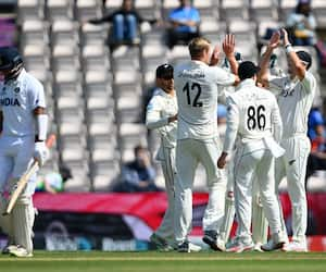 India all out for 170 in their 2nd innings, 139 runs target of New Zealand to win wtc final 2021 spb