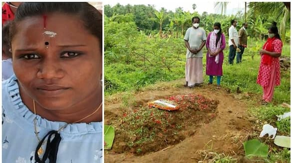 woman burnt to death in palakkad husbands house relatives  alleged murder