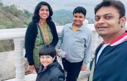 <p>Santosh and Aanchal Iyer</p>