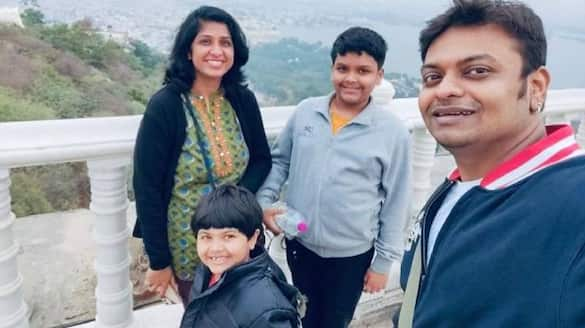 nomad life of Santosh and Aanchal Iyer family