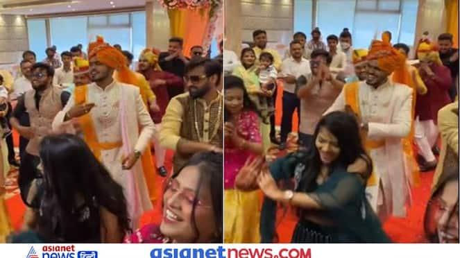 groom entered the marriage like Salman Khan watch the viral video KPZ