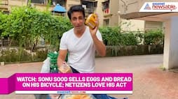 Watch Sonu Sood sells eggs and bread on his bicycle; netizens love his act-tgy