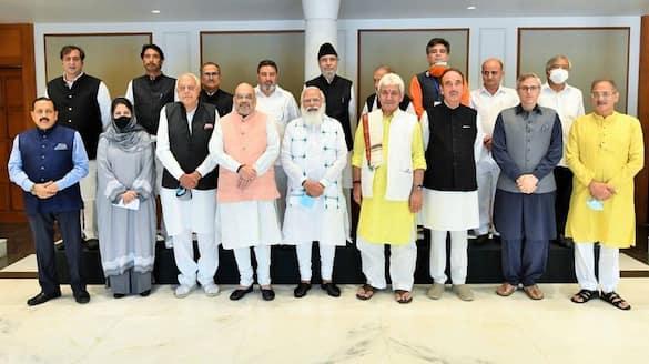 PM Modi discusses delimitation, statehood, polls at all-party meet lns