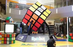 <p>Biggest Rubik's Cube displayed in Hong Kong sets new Guinness World Record; watch the video</p>