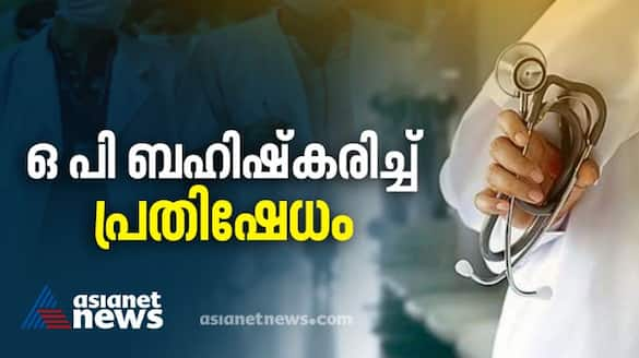 doctors protest on police rahul mathew issue
