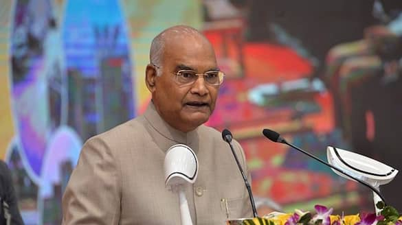 President Ram Nath Kovind is taking a train to his native village today-VPN