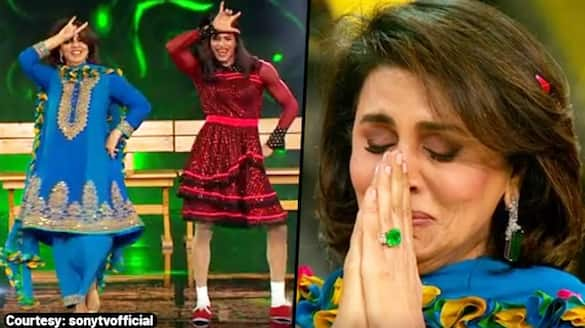 Neetu Kapoor tears up after Super Dancer competitors pay tribute to Rishi Kapoor; Watch Video - gps