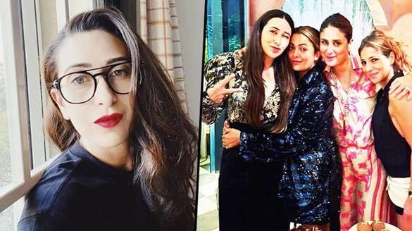Karisma Kapoor celebrates birthday with girlfriends; Kareena Kapoor, Amrita Arora joins the bash-SYT