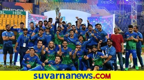Multan Sultans Thrashes Peshawar Zalmi in final and won the maiden PSL title kvn