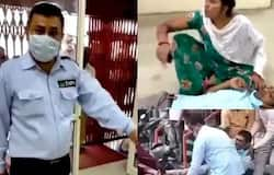 <p>Guard shot in UP Police, Bareilly, guard shot, shot for not wearing mask</p>
