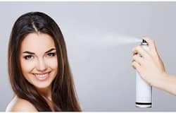 <p>hair spray</p>