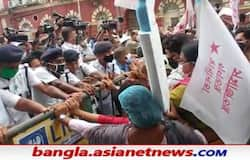 <p>Image of KMC protest Left</p>
