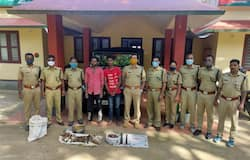 <p>wayanad five poachers arrested by forest department</p>