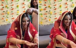 <p>Pandemic effect: Bride-to-be seeks in-laws' blessings online; watch the video</p>