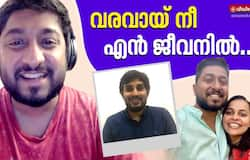 <p>vineeth sreenivasan and wife divya sang together for a movie</p>